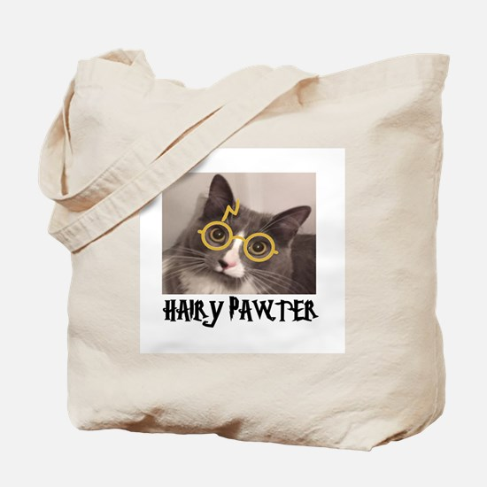 CATS - HAIRY PAWTER Tote Bag