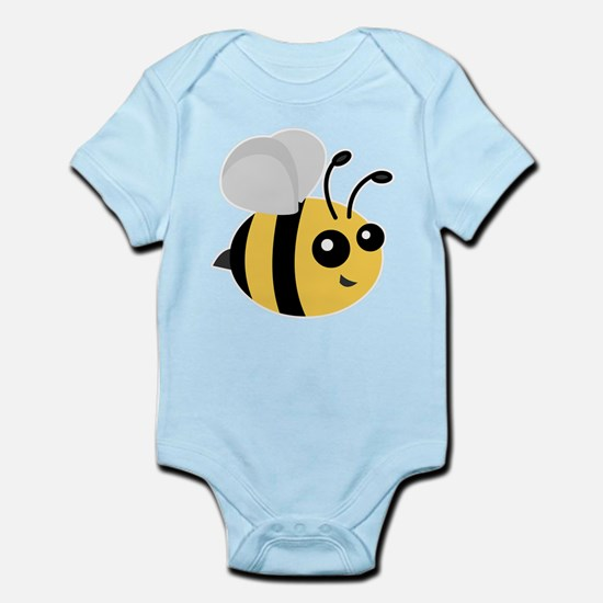 Cute Cartoon Bee Body Suit