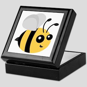 Cute Cartoon Bee Keepsake Box