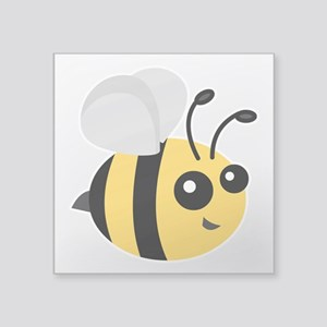 Cute Cartoon Bee Sticker