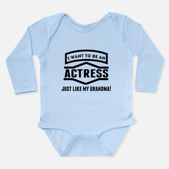 Actress Just Like My Grandma Body Suit