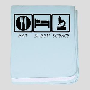 eat sleep baby blanket