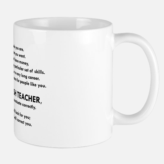 I will find you Punctuate Correctly Mugs