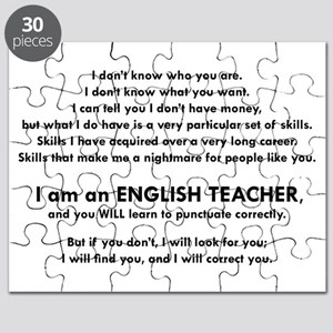 I will find you Punctuate Correctly Puzzle