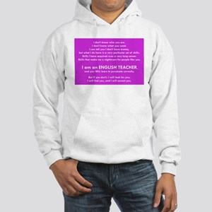 I will find you Punctuate Correc Hooded Sweatshirt