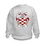 Priego Family Crest Kids Sweatshirt