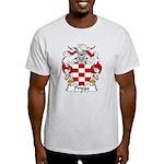 Priego Family Crest Light T-Shirt