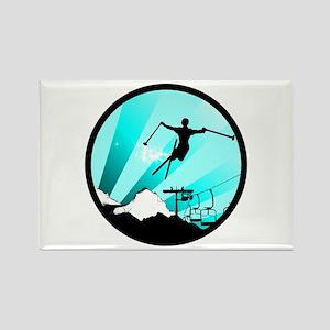 ski jumper Magnets