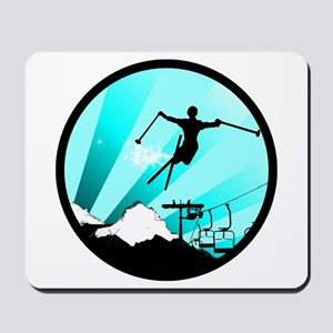 ski jumper Mousepad