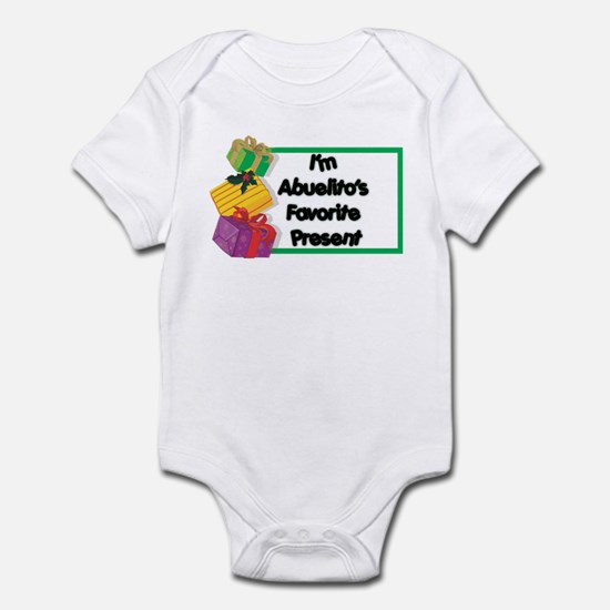 Abuelito's Favorite Present Infant Bodysuit