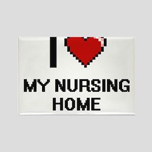 I Love My Nursing Home Magnets