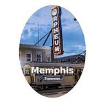 Memphis Oval Ornament