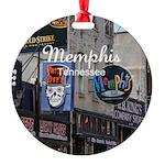 Memphis Round Ornament