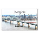Memphis Sticker (Rectangle 50 pk)