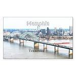 Memphis Sticker (Rectangle 10 pk)