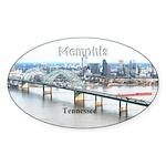 Memphis Sticker (Oval 50 pk)