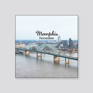 "Memphis Square Sticker 3"" x 3"""