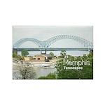 Memphis Rectangle Magnet (100 pack)