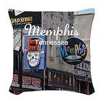 Memphis Woven Throw Pillow