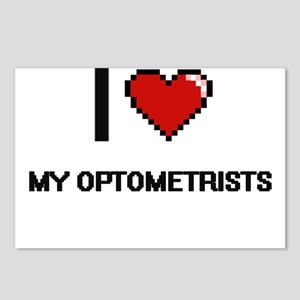 I Love My Optometrists Postcards (Package of 8)