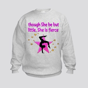 FIERCE GYMNAST Kids Sweatshirt
