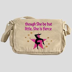 FIERCE GYMNAST Messenger Bag