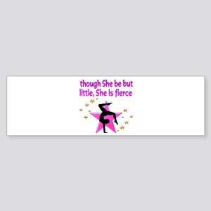 FIERCE GYMNAST Sticker (Bumper)