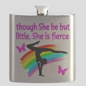 FIERCE GYMNAST Flask