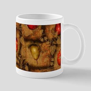 Fruit Collage Pattern Mugs