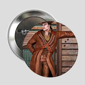 "Cowboy 2.25"" Button (10 pack)"
