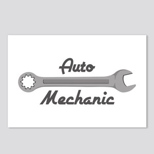Auto Mechanic Postcards (Package of 8)