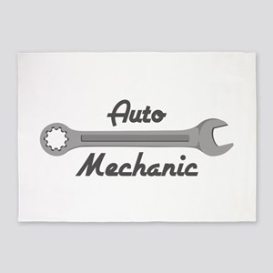 Auto Mechanic 5'x7'Area Rug