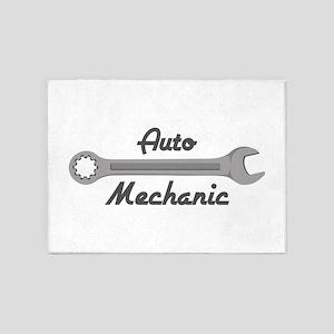 Auto Mechanic 5'x7'Area Rug