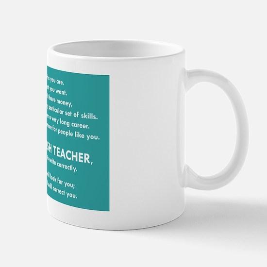 I Will Find You – Write Properly Mugs