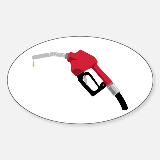 Gas Pump Nozzle Decal