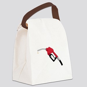 Gas Pump Nozzle Canvas Lunch Bag