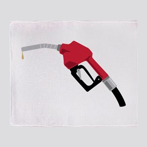Gas Pump Nozzle Throw Blanket