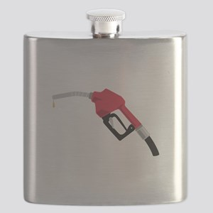 Gas Pump Nozzle Flask