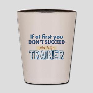Trainer Shot Glass
