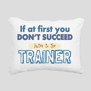 Trainer Rectangular Canvas Pillow
