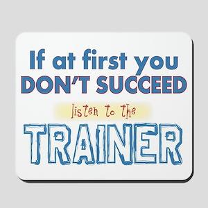 Trainer Mousepad