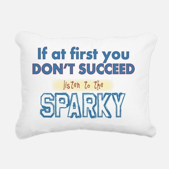 Sparky Rectangular Canvas Pillow