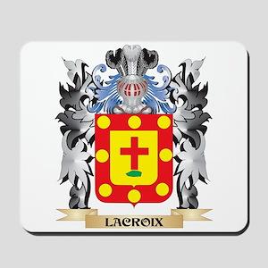 Lacroix Coat of Arms - Family Crest Mousepad