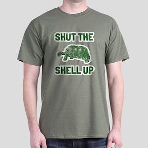 Shut the shell up Dark T-Shirt