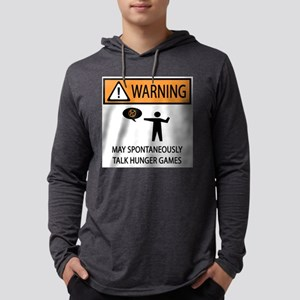 Warning Talk Hunger Games Long Sleeve T-Shirt