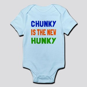 Chunky is the new hunky Infant Bodysuit