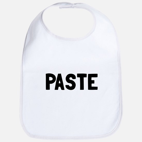 Copy Paste Adult Baby Bib