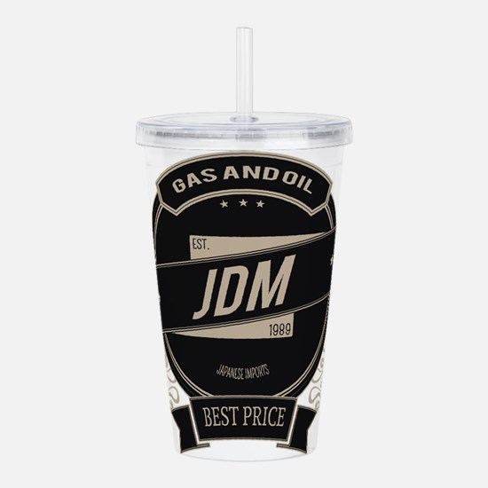 JDM Japanese Import Acrylic Double-wall Tumbler