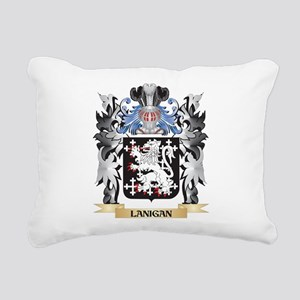Lanigan Coat of Arms - F Rectangular Canvas Pillow
