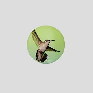 Female Hummingbird Mini Button